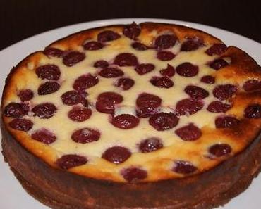 Käse-Kirsch Kuchen