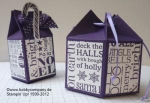 Verpackungsideen mit der Stanzform Milchtüte von Stampin`Up!