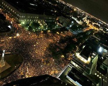 Generalstreik in Bildern