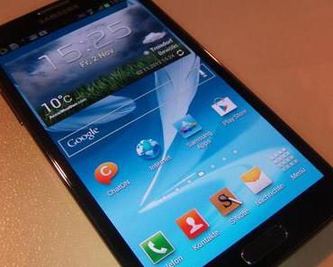 Im Test: Das Samsung Galaxy Note 2 – Der Riese unter den Androiden
