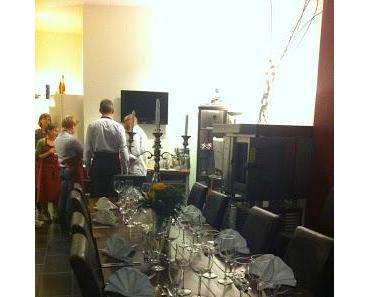 """gemütlicher Abend beim Kochkurs im """"Kochatelier- Berlin"""""""