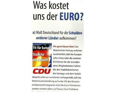 CDU – Christlich, Doppelzüngig, Unehrlich