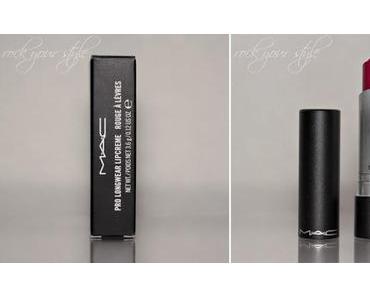 Review - MAC - Pro Longwear Lipcreme - Perpetual Flame
