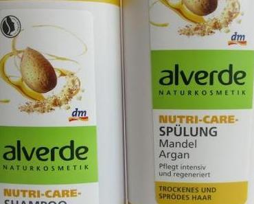 alverde Nutri-Care Shampoo + Spülung