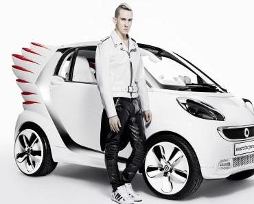 Modedesigner Jeremy Scott gestaltet smart fortwo electric drive