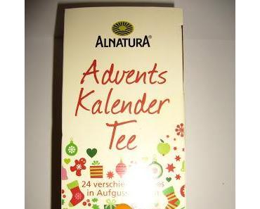 Alnatura Adventskalender Tee