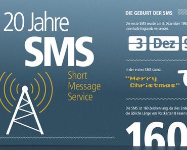 20 Jahre SMS – Die Infografik