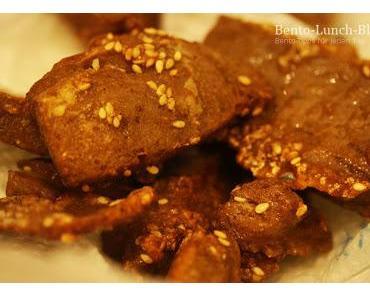 Rezept: Mock Chicken Karaage mit Sesam