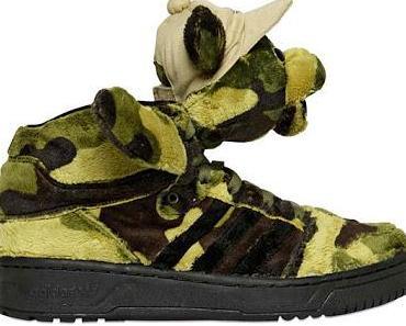 "adidas Originals by Jeremy Scott ""JS Camo Bear"""