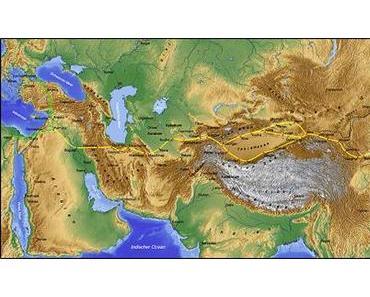 Von Istanbul bis Neu Delhi auf der Seidenrute