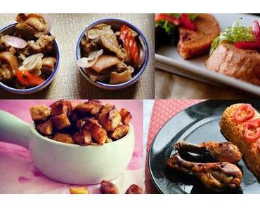Weihnachten auf Nigerianisch: Jollof Rice, Fried Plantains, Stewed Beef und Moin Moin