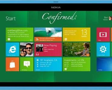 Nokia Internet Tablet mit Windows 8 – Wann können wir das neue Miracle erwarten?