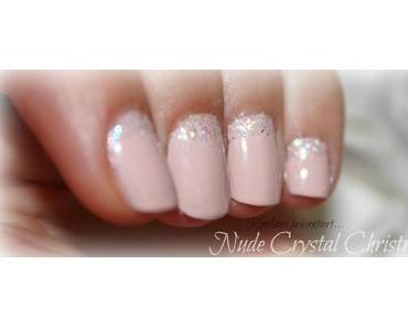 NotD: Nude Crystal Christmas Nails (Step-by-Step-Tutorial)