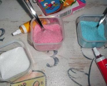 Zucker einfärben zum verzieren von Gebäck