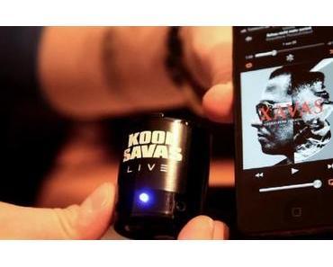 Kool Savas verkauft eigene (Mini-) Lautsprecher [Video]