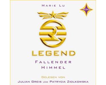 {Rezension} Legend 1: Fallender Himmel von Mary Lu, gesprochen von Julian Greis, Patrycia Ziolkowska