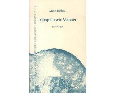 Neuerscheinung: Kämpfen wie Männer von Anne Richter