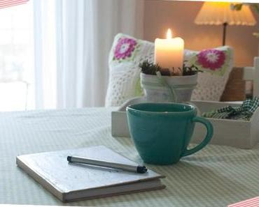 Ein kleines Glücksbuch – DIY mit kleiner Vorlage zum Ausdrucken