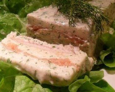 Mousseline de poissons fumés - Terrine von Räucherfischen