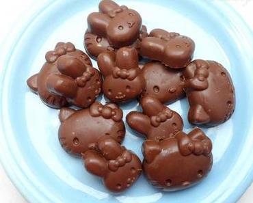 Mitt-koch-woch - selbstgemachte Hello Kitty Pralinen