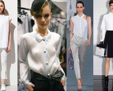 Frühjahrstrend 2013 – Weiße Hemden