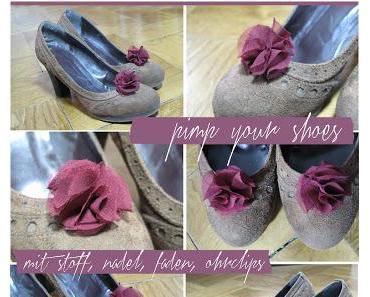 pimp your shoes! {teil1}