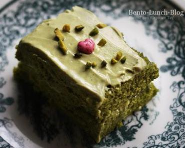 Rezept: Matcha-Mikrowellen-Kuchen mit Mascarpone-Creme