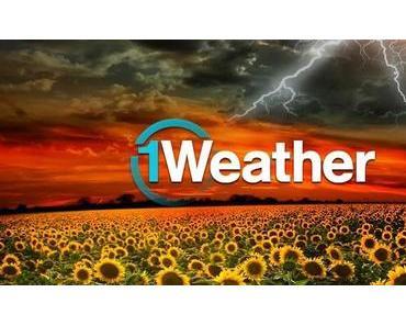 1Weather für Android: Minimalistische Wetter-App erhält umfangreiches Update