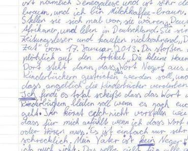 Ein Kinderbrief und seine Auswirkungen