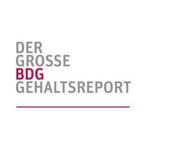 Großer BDG Gehaltsreport
