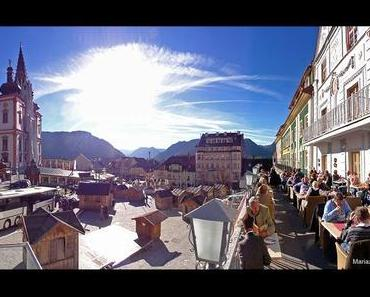 Klimaerwärmung? in Mariazell oder nur ein feiner Herbsttag