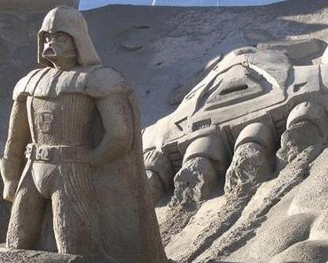 Star Wars Sandskulpturen