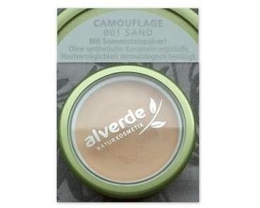 Nun auch bei mir: alverde Camouflage 001 sand
