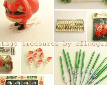 RetroFriday with a little vintage Christmas by efinegifts...