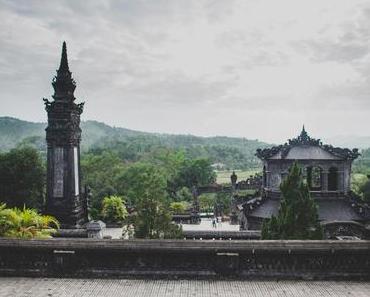 Hue – die alte Kaiserstadt, der Wolkenpass und warum Muschel-sammelnde Mädchen mich in Zukunft weniger ärgern lassen