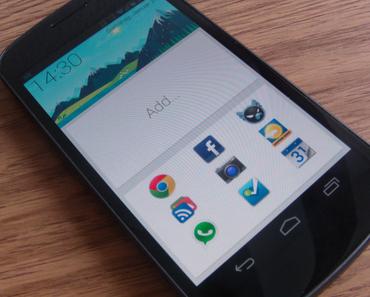 SF Launcher für Android: Google Now-Optik auf dem Homescreen
