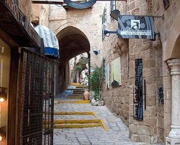 Das Viertel der Alten Stadt Jaffa, Tel Aviv