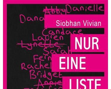 Siobhan Vivian- Nur eine Liste (Rezension)