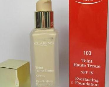 "Clarins Teint Haute Tenue Foundation ""103"""