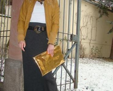 OOTD: Maxi Skirt & Leather Jacket