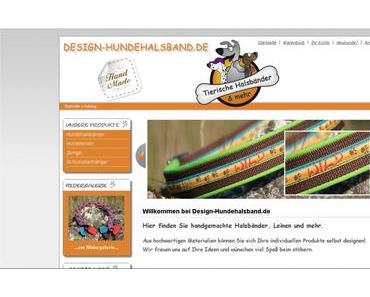 Design-Hundehalsband