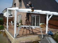 Terrassenüberdachung kaufen oder selber bauen