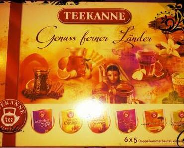 Gesehen, Gekauft, Getestet& Gepostet: Ländertee- Collection von Teekanne