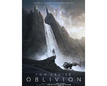 Oblivion: Neues Plakat und weiterer Trailer erschienen