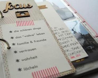 memory book / erinnerungsbuch / januar