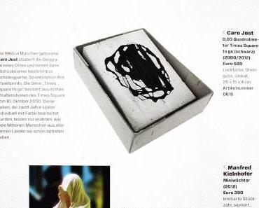 artinvestor artseasons invest in style finanzen munich miniwaechter guardians of time sculpture by manfred kielnhofer