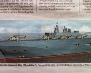 Deutsche Allianz für Kanonenboot-Politik
