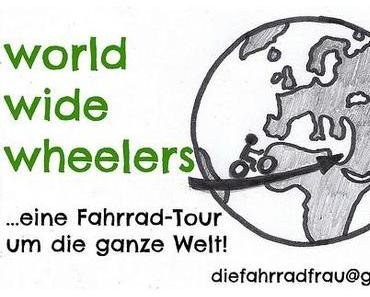 """Gastbeitrag bei  """"bikelovin"""" zum Projekt """"world wide wheeling"""""""