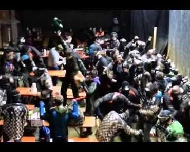 Harlem Shake meets Paintball