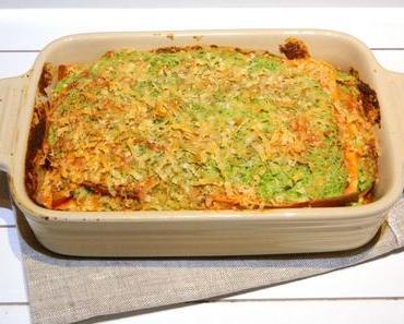 Brokkoli-Creme - Lasagne